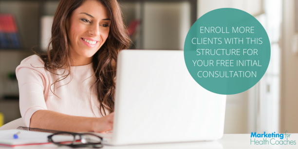 Enroll more clients with this structure for consultation calls | Marketing For Health Coaches
