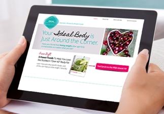 Website-on-iPad