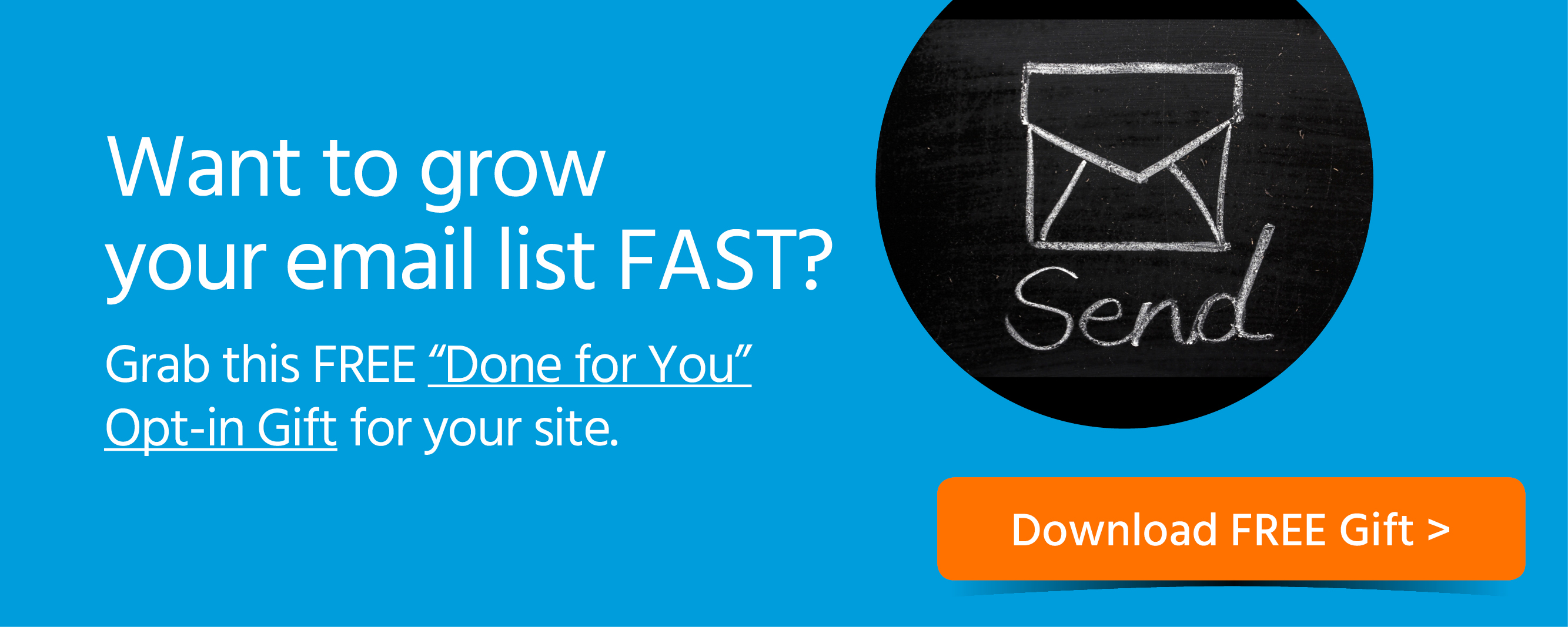 Want to grow email list fast box