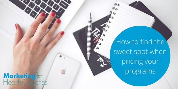 how to price your programs