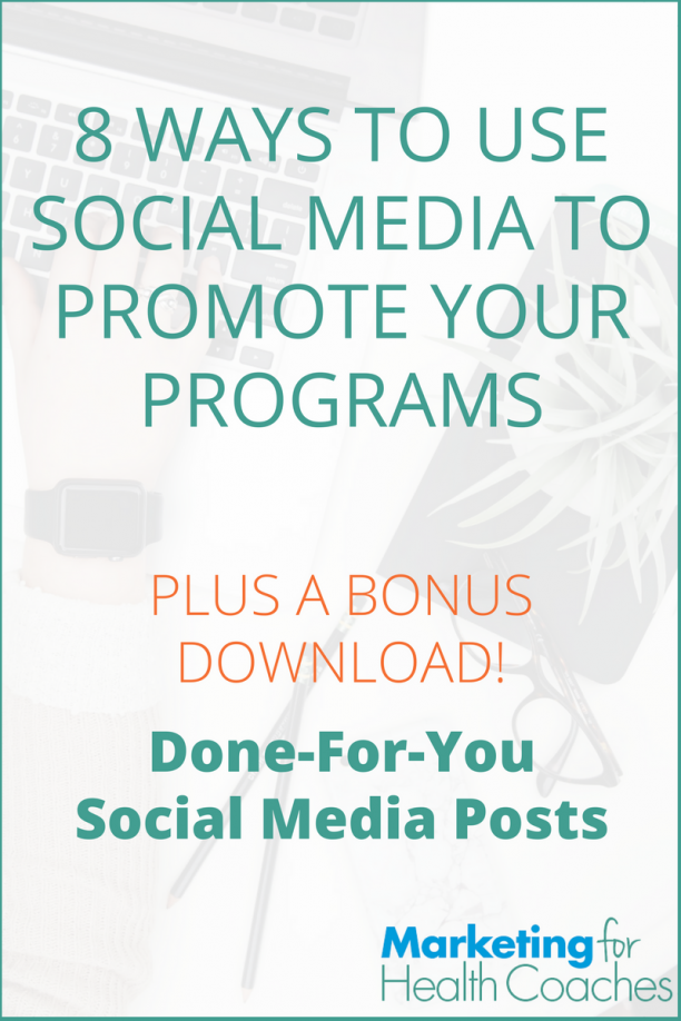 Use Social Media to Promote