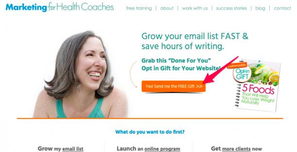 MFHC Homepage Screenshot