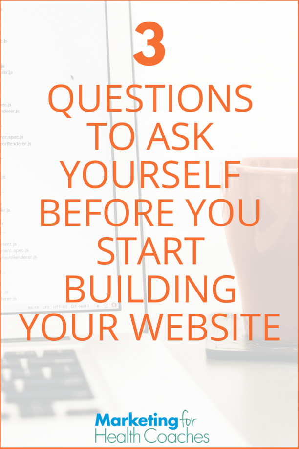 Should you build your own website marketing for health for Questions to ask a builder