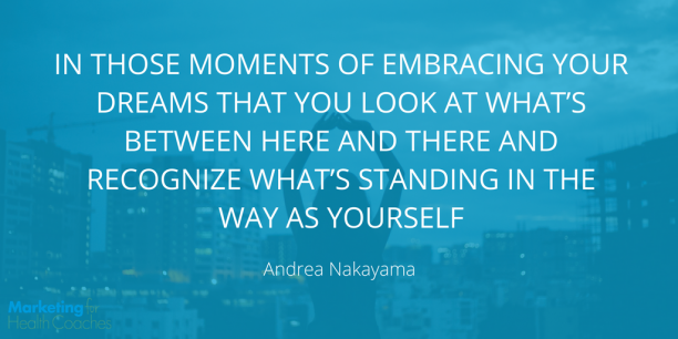 Andrea Nakayama Quote