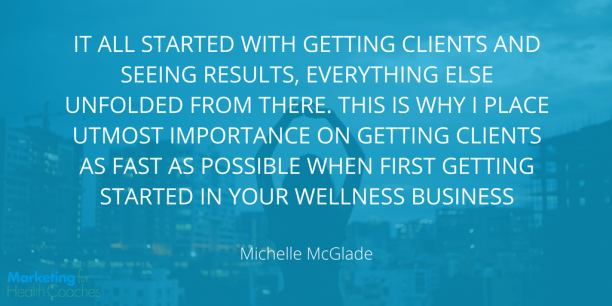 MIchelle McGlade Quote