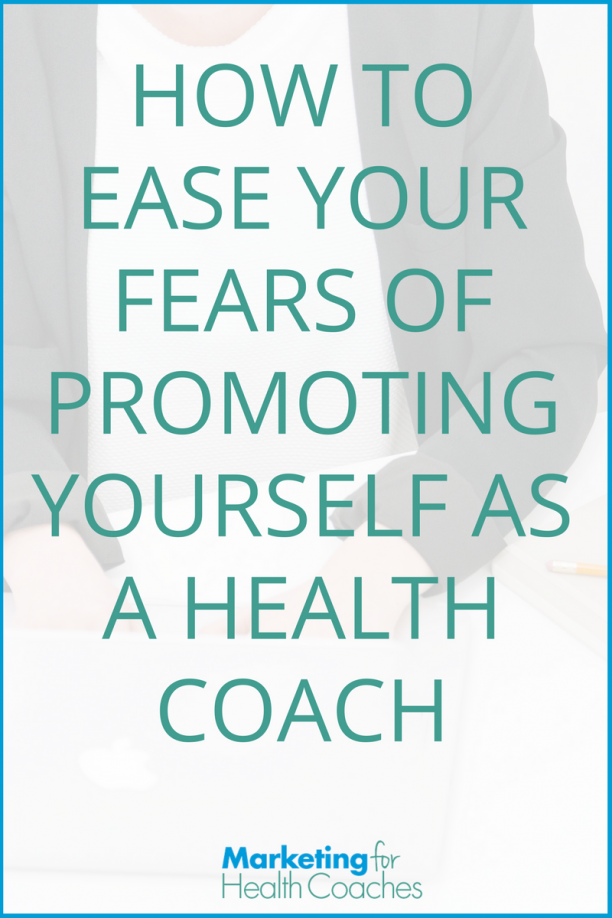 Ease Your Fears of Promoting - Pinterest