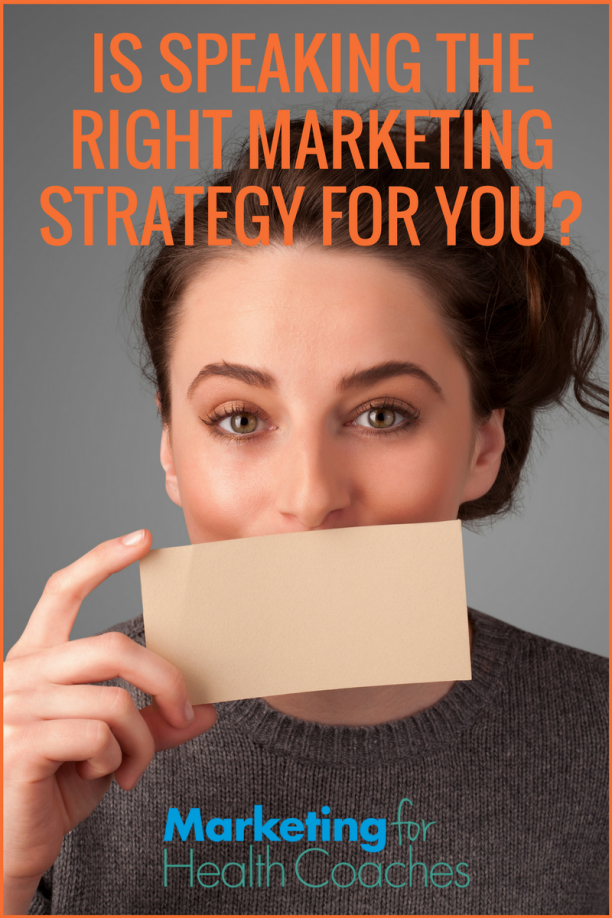 Is Speaking the Right Marketing Strategy For You - Pinterest