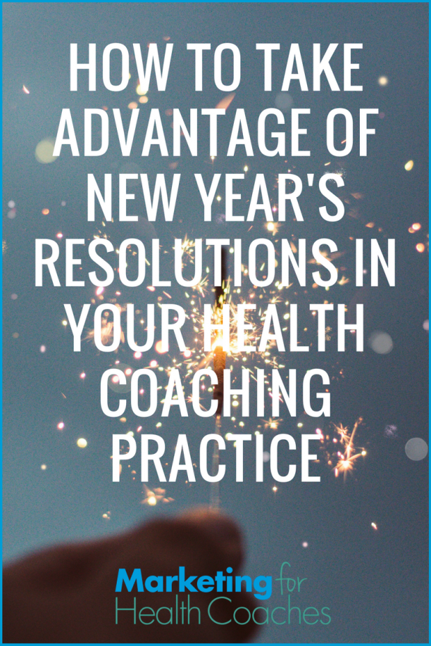 Take Advantage of New Years Resolutions - Pinterest