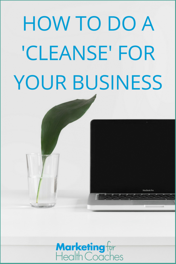 Cleanse Your Business - Pinterest
