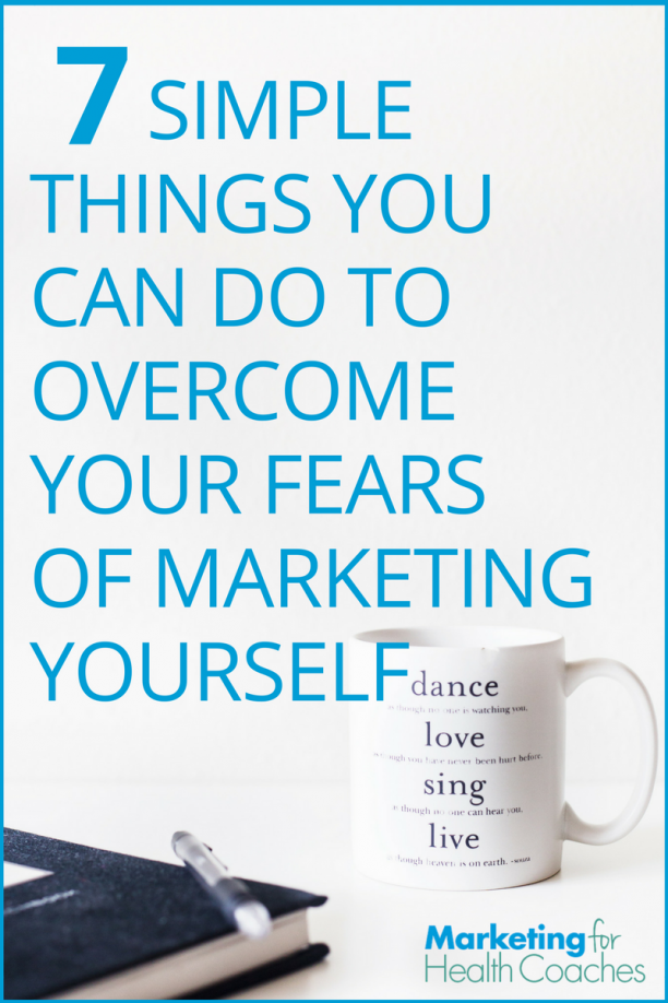 Overcome Fears of Marketing - Pinterest