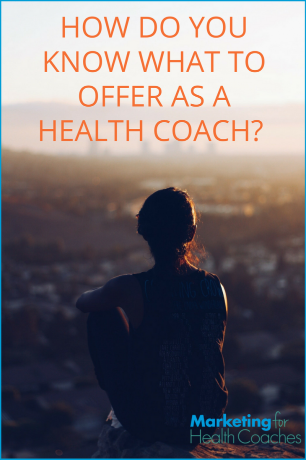 What to Offer as a Health Coach - Pinterest