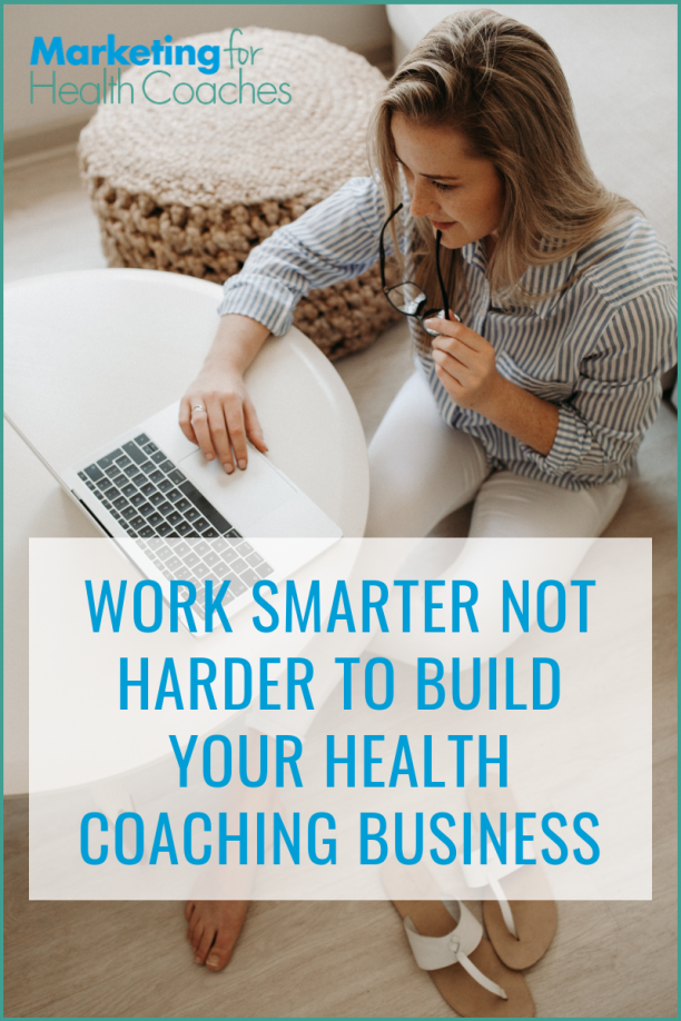 Working hard but still struggling with your health coaching business?