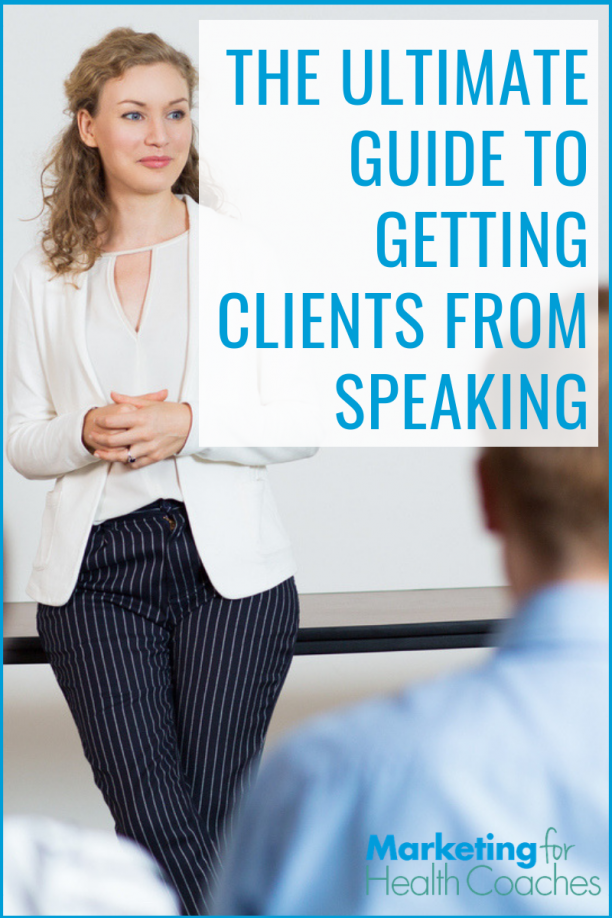 Learn EVERYTHING you need to know to make speaking work for you.