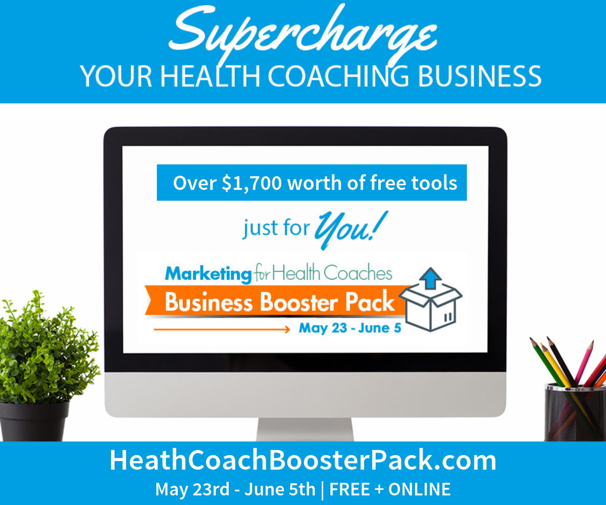 Health Coach Business Booster Pack