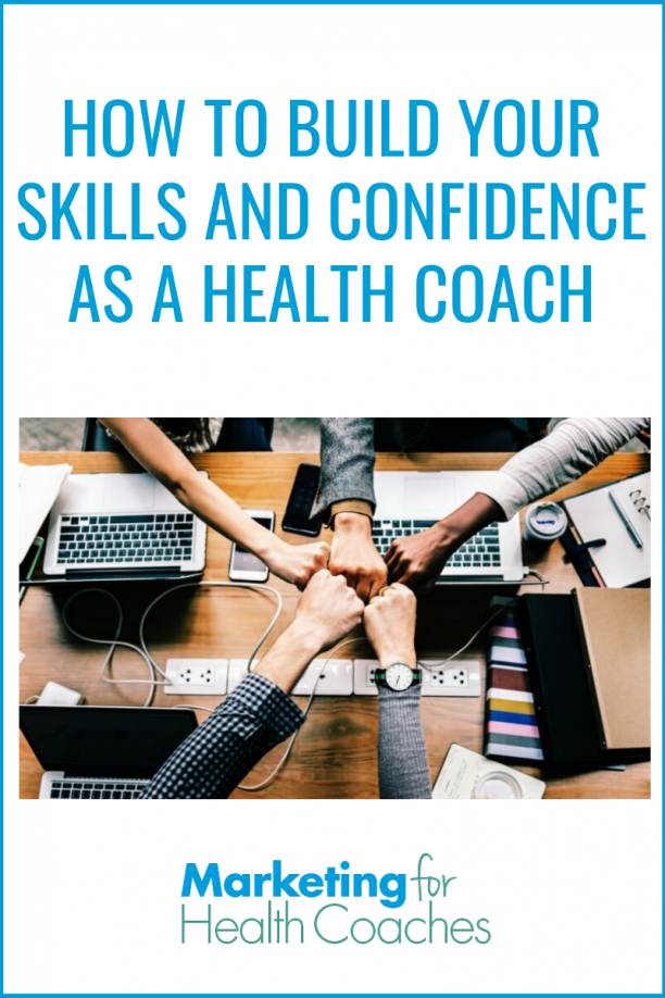 Build your skills and confidence as a health coach with the guidance I'm sharing in this post.